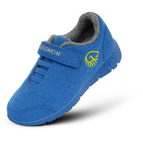 Giesswein Merino Wool Runners Kids cobalt